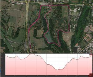 altimetria maratona peter pan 2018