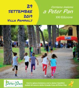 Locandina Corriamo insieme a Peter Pan 2019